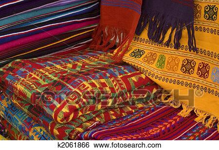 Banque d'Image - coloré, maya, tissus. Fotosearch - Recherchez des Photos, des Images, des Photographies et des Clip Arts