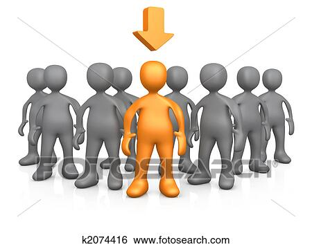 Stock Illustration of Strong Individual k2074416 - Search ...