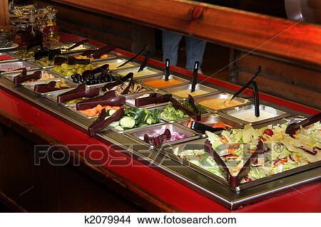 ресторан салат бар фото