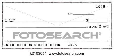 banco de imagem cheque branco com falso n meros k2103054 busca de imagens fotografias. Black Bedroom Furniture Sets. Home Design Ideas
