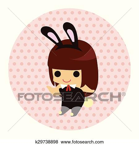Clip art of casino playboy bunny theme elements k29738898 search casino playboy bunny theme elements voltagebd Images