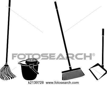 Clip art boden putzen k2139728 suche clipart poster for Boden putzen