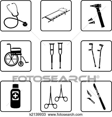 الرسم - الأدوات الطبية. fotosearch - ابحث عن