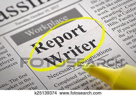 Writer vacancy