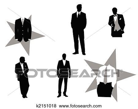 Tuxedo Clipart EPS Images. 3,111 tuxedo clip art vector ...
