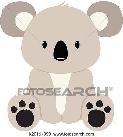 Clipart of Koala Bear k20157090 - Search Clip Art, Illustration ...