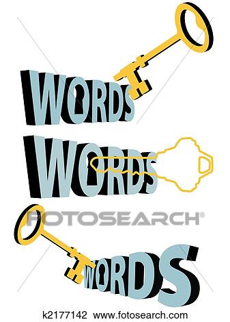 clipart of key words gold keywords keyhole 3d search symbol k2177142 rh fotosearch com keyhole saw clipart Decorative Line Clip Art
