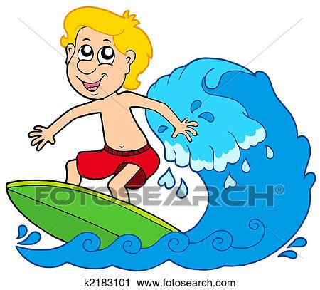 clipart of cartoon surfer boy k2183101 search clip art rh fotosearch com Soul Surfer Clip Art surfer image clipart