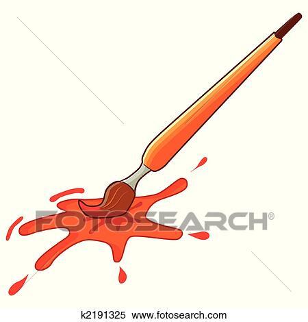 clipart pinsel k2191325 suche clip art illustration wandbilder zeichnungen und vector eps. Black Bedroom Furniture Sets. Home Design Ideas