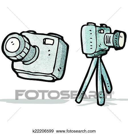 剪贴画 卡通漫画, 照相机