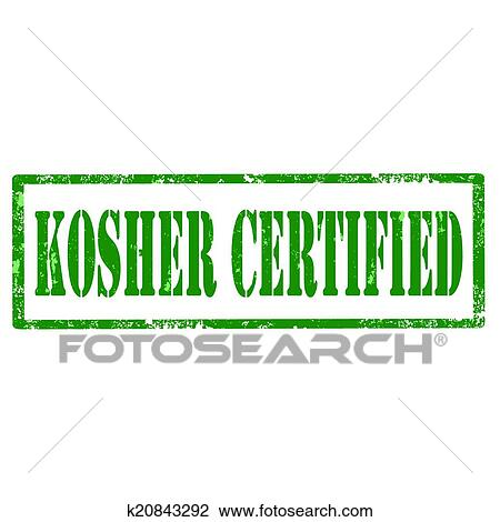 clipart of kosher certifiedstamp k20843292 search clip