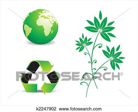 剪贴画 - 环境保护, 符号图片