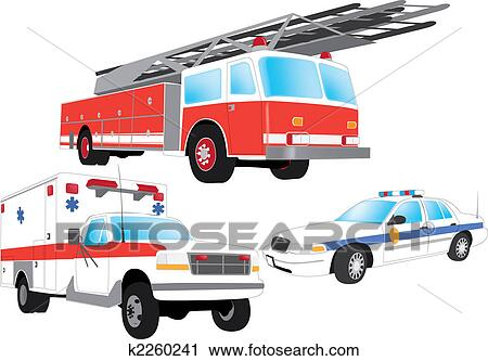 Police car Clip Art EPS Images. 2,956 police car clipart vector ...