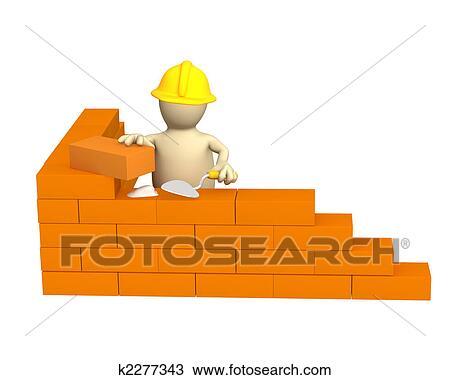 Dessin 3d marionnette constructeur b timent a for Dessin batiment 3d