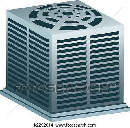 Clipart of air conditioner k2292614 search clip art for Air conditionn mural