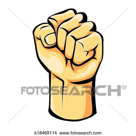 clipart of strong hand k18469114 search clip art illustration rh fotosearch com strong man clipart images strong man clipart images
