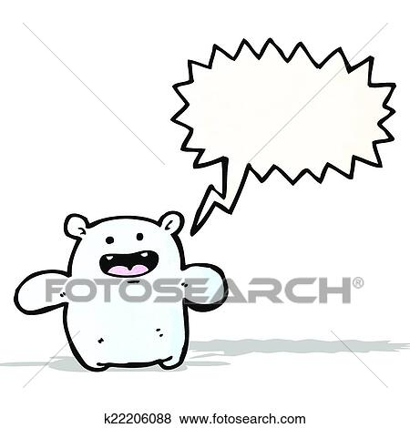 clip art of cartoon friendly monster k22206088 search clipart rh fotosearch com friendly clipart friendly clipart pic