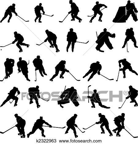 Ice hockey Clip Art EPS Images. 4,745 ice hockey clipart vector ...