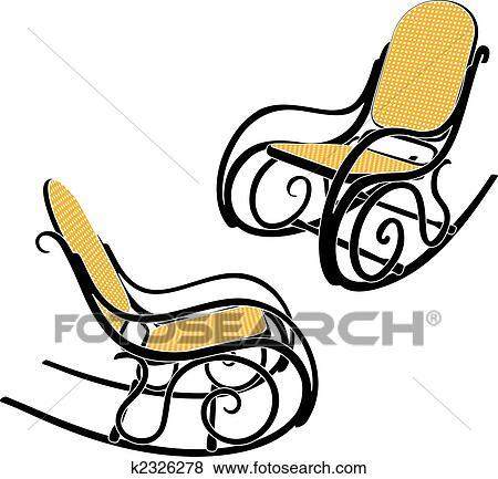 Clip art thonet sedia dondolo k2326278 cerca clipart - Sedia a dondolo disegno ...