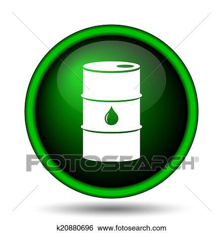 Oil Barrel Drawing Oil Barrel Icon