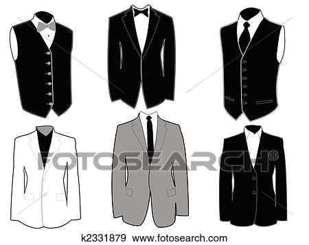 clip art of tuxedo templates k2331879 search clipart