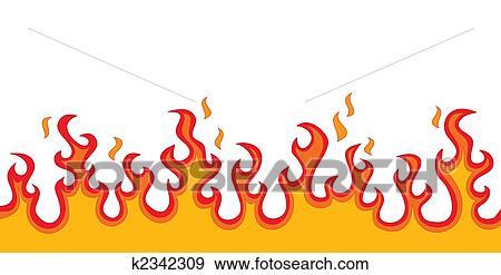 Arquivos de Ilustração - fogo, chamas k2342309 - Busca de Clip Art ...