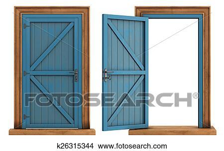 Holztüren weiß  Zeichnungen - alt, holztüren, weiß, hintergrund k26315344 - Suche ...