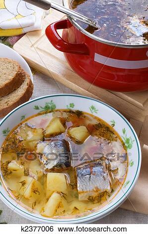 Рыбный суп сардины рецепт с фото