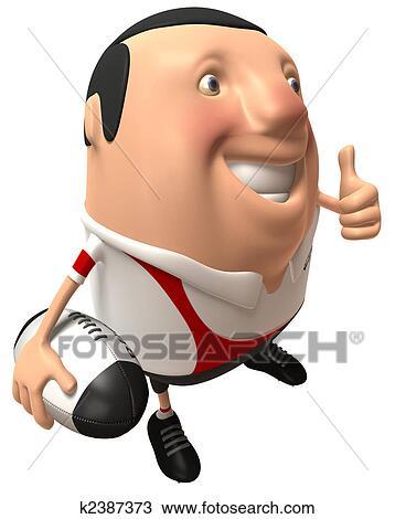 Dessin joueur rugby k2387373 recherchez des cliparts des illustrations et des images - Dessin de joueur de rugby ...