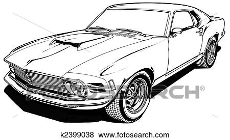 K2399038 furthermore  on muscle car wall murals