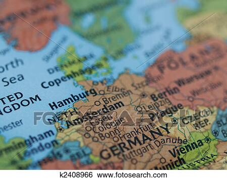 Stock Images Of Netherlands Germany Map K Search Stock - Netherlands germany map