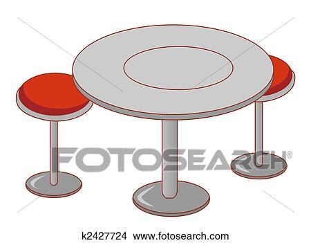 手绘图 - 桌子, 同时,图片