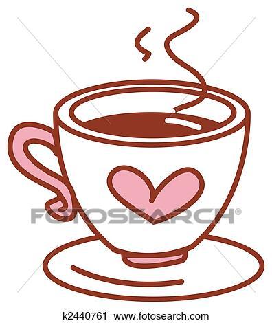 Xicara de café desenho