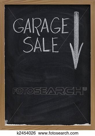 banque d 39 images brocante domicile tableau noir signe k2454026 recherchez des photos des. Black Bedroom Furniture Sets. Home Design Ideas