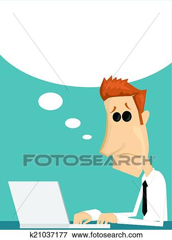 Clip art cartone animato impiegato k21037177 cerca - Cartone animato immagini immagini fantasma immagini ...
