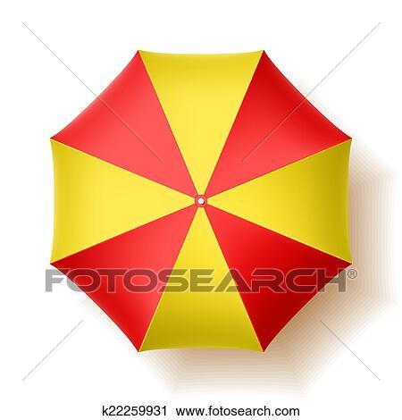 Sonnenschirm grafik  Clipart - sonnenschirm k22259931 - Suche Clip Art, Illustration ...