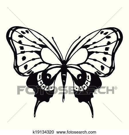 剪贴画 蝴蝶, 设计