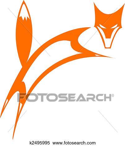 Clipart renard k2495995 recherchez des clip arts des - Clipart renard ...