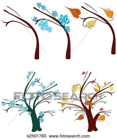 手绘图 - 树