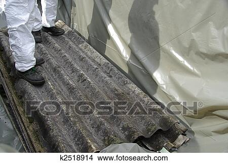 Stock Photo Of Asbestos 01 K2518914 Search Stock Images