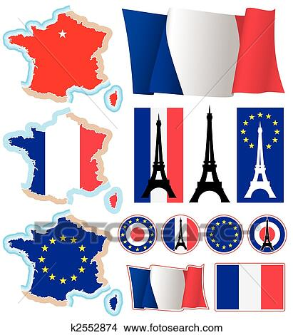 Clipart Of French Design Elements K2552874