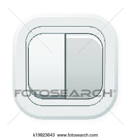 Lichtschalter clipart  Clipart - schalter k19823643 - Suche Clip Art, Illustration ...