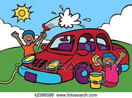 Car Wash Fundraiser Ethnic Clip Art K on Car Wash Posters Clip Art