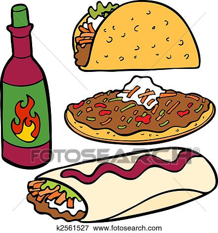 Clip Art Mexican Food Clip Art mexican food clip art eps images 3937 clipart items