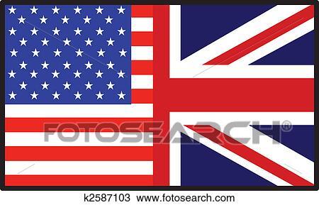 Dibujo am rica bandera inglesa k2587103 buscar clip - Dibujo bandera inglesa ...