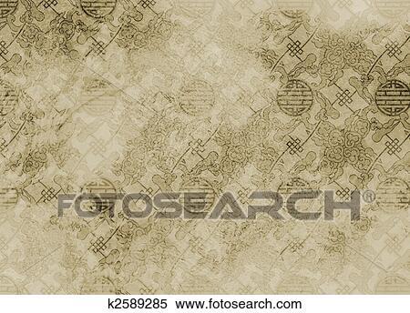 Archivio immagini cinese textured modello in - Fondo rasante per piastrelle murali ...