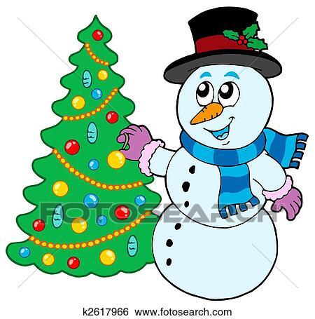 疯狂猜成语雪人_失量图库 - 雪人, 装饰圣诞树