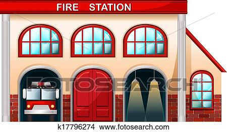 Building On Fire Clipart