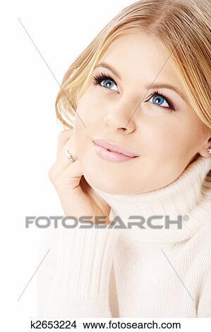 фото блондинка в ошейнике