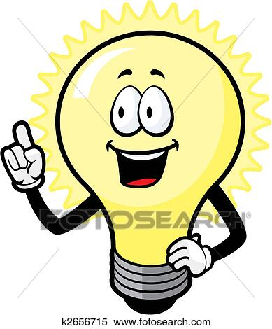 Clipart Of Light Bulb Idea K2656715